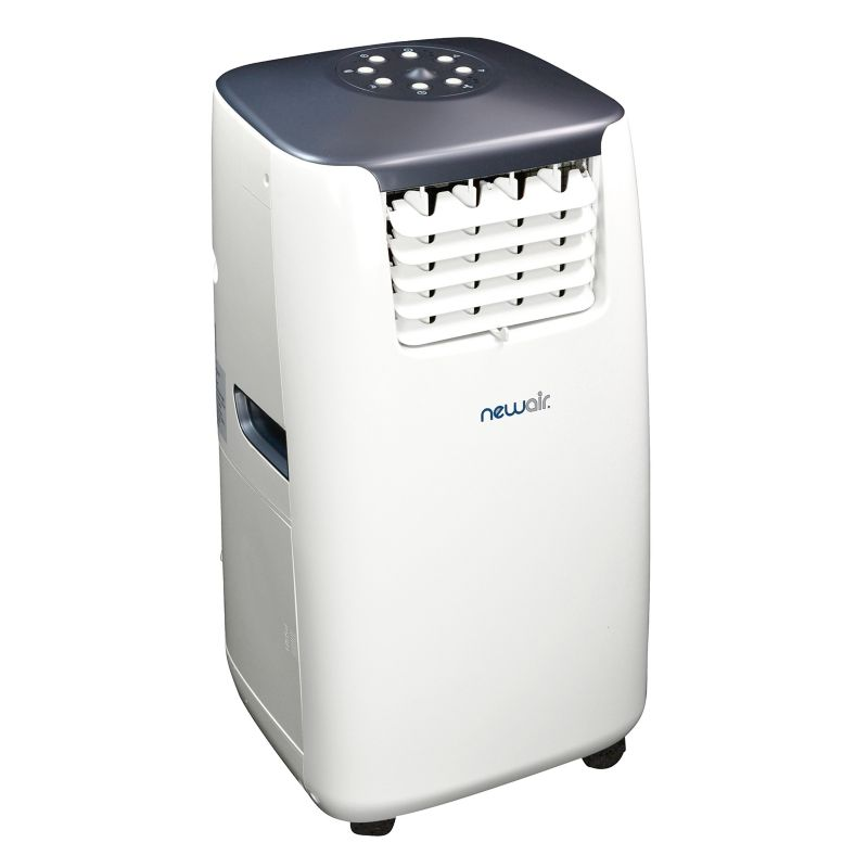 NewAir 14,000 BTU Portable Air Conditioner and Heater, White thumbnail